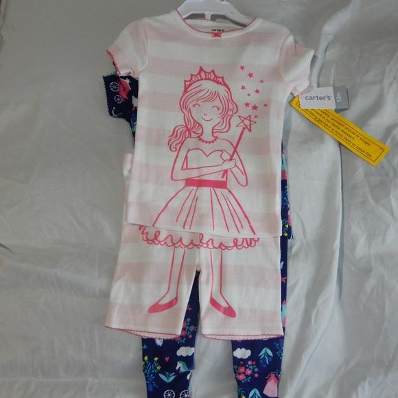 Cute CARTER'S girls pijamas NWT